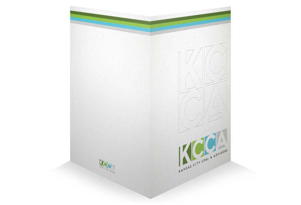 custom designed presentation folders for accountants