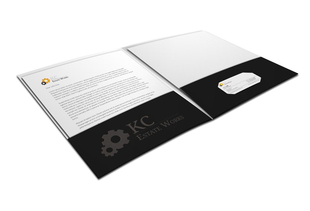 custom designed presentation folders for attorneys