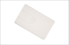 custom designed credit card flip usb drives