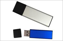 custom designed aluminum usb drives