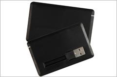 custom designed credit card pick usb drives