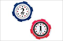 custom designed poker chip usb drives
