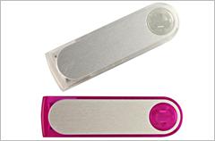 custom designed trans swivel usb drives