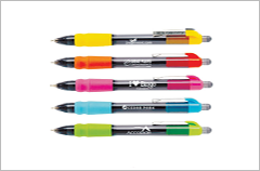 maxglade click tropical retractable pens