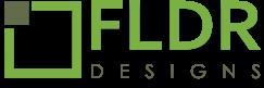 fldr design logo footer
