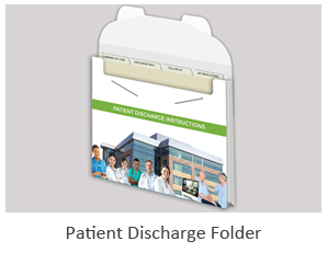 graphic designer for patient discharge folders
